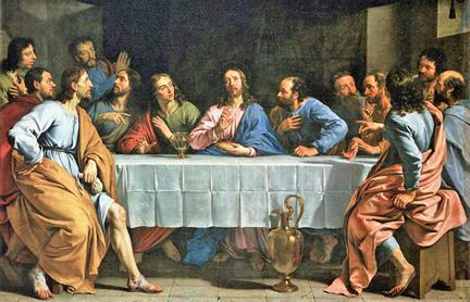 57 last supper 10
